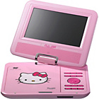 more details on Hello Kitty Portable DVD Player.