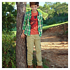 more details on Cherokee Boys' Stone Cargo Trousers - 11-12 Years.