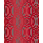 more details on Arthouse Spiral Red and Silver Wallpaper.