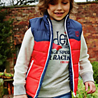 more details on Cherokee Boys' Colour Block Gilet.