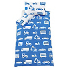 more details on Blue Transport Bedding Set - Single.