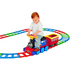 more details on Smoby Ride On Train and 22 Piece Track Set.
