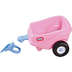 more details on Little Tikes Princess Cozy Coupe Trailer - Pink.