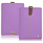 more details on NueVue Light iPad Case - Purple/Green