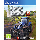 more details on Farming Simulator 15 PS4 Game.
