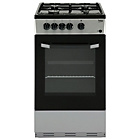 more details on Beko BSG580S Gas Cooker - Silver.