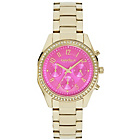 more details on Caravelle New York Ladies' Gold Chronograph Watch.