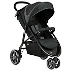 more details on Joie Litetrax 3 Wheeler Midnight Pushchair - Black & Grey.