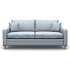 more details on Heart of House Newbury Large Fabric Sofa - Duckegg.