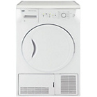 more details on Beko DCU8230W 8KG Condenser Tumble Dryer - White.