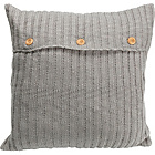 more details on Heart of House Knitted Cushion - Grey.