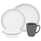 more details on Corelle Mystic Gray 16 Piece Dinner Set.