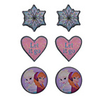 more details on Disney Frozen Stud Earrings - Set of 3.