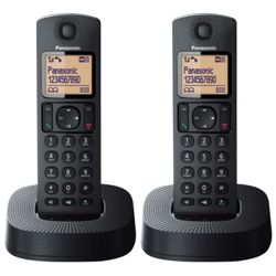 Panasonic TGC322 Twin Cordless Telephone with Answer Machine