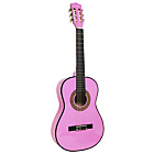 more details on Elevation 3/4 Size Acoustic Guitar - Pink.