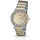 more details on Accurist  Two-Tone Bracelet Mens' Watch with Date.