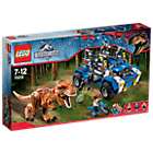 more details on LEGO® Jurassic World T. rex Tracker Dinosaur - 75918.