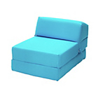 more details on ColourMatch Flip Out Chairbed - Blue.