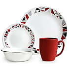 more details on Corelle Mosaic Red 16 Piece Dinner Set.