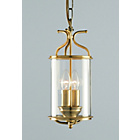 more details on Winchester 2 Bulb Lantern - Antique Brass.