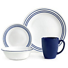 more details on Corelle 16 Piece Dinner Set - Jett Blue.
