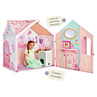 more details on Dream Town Rose Petal Cottage and Cooker Playset.