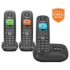 more details on Gigaset A550A Cordless Telephone with Answer M/c. - Triple.