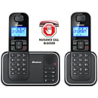 more details on Binatone Armour 5025S Cordless Telephone/Answer M/c - Twin.