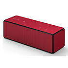 more details on Sony SRSX33 Portable Wireless Speaker - Red