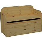 more details on Bench Box - Natural Unfinished Pine.
