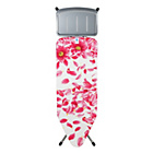 more details on Brabantia 124 x 45cm White and Pink Ironing Board.