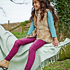more details on Cherokee Girls' Pink Washed Jeans - 11-12 Years.
