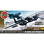 more details on Airfix Dogfight Havilland Mosquito & Messerschmitt Set.