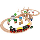 more details on Tidlo Wooden Train Set (50 Pieces).
