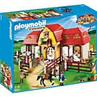 more details on Playmobil 5221 Large Horse Farm with Paddock.