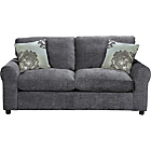 more details on Tessa Fabric Sofa Bed - Charcoal.