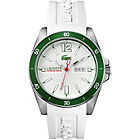 more details on Lacoste Mens' Seattle White Strap Watch.