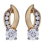 more details on 9ct Gold Plated Silver Cubic Zirconia Stud Earrings.