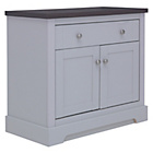more details on Heart of House Westbury 2 Door 1 Dwr Small Sideboard - Grey.