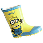 more details on Despicable Me Minions Boys' Welly - Size 9.