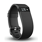 more details on Fitbit Charge HR Small Heart Rate Monitor Wristband - Black.