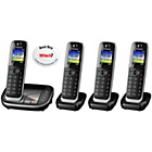 more details on Panasonic TGK320EB Cordless Telephone with Answer M/c - Quad