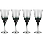 more details on 4 Piece Chunky Wine Glass Set - Black.