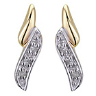 more details on 9ct Gold 0.06ct Diamond Stud Earrings.