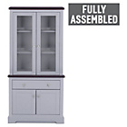 more details on Heart of House Westbury Display Unit with Lights - Grey.