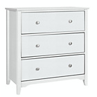 more details on Grafton 3 Drawer Chest - White.