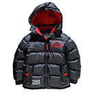 more details on Star Wars Boys' Black Puffer Coat - 7-8 Years.