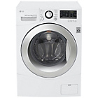 more details on LG FH2A8TDN2 8KG 1200 Spin Washing Machine - White.