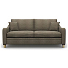 more details on Heart of House Newbury Large Fabric Sofa - Taupe.