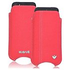 more details on NueVue Canvas Coral iPhone 4 4s and 5c Case - Pink/Green